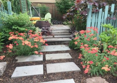 stone walkway steps landscaping gladstone